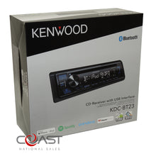 Load image into Gallery viewer, Kenwoo Spotify Bluetooth Dash Kit Harness For 02-08 Audi A4 S4 Symphony Radio