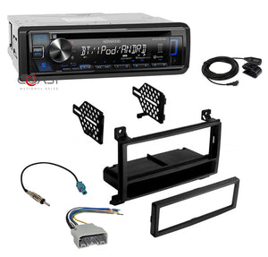 Kenwood Radio Spotify Bluetooth Dash Kit Harness For Select 2011-13 Dodge Jeep