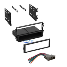 Load image into Gallery viewer, Car Stereo Radio Single Din Dash Kit  W/ Wire Harness for 1998-2003 Kia