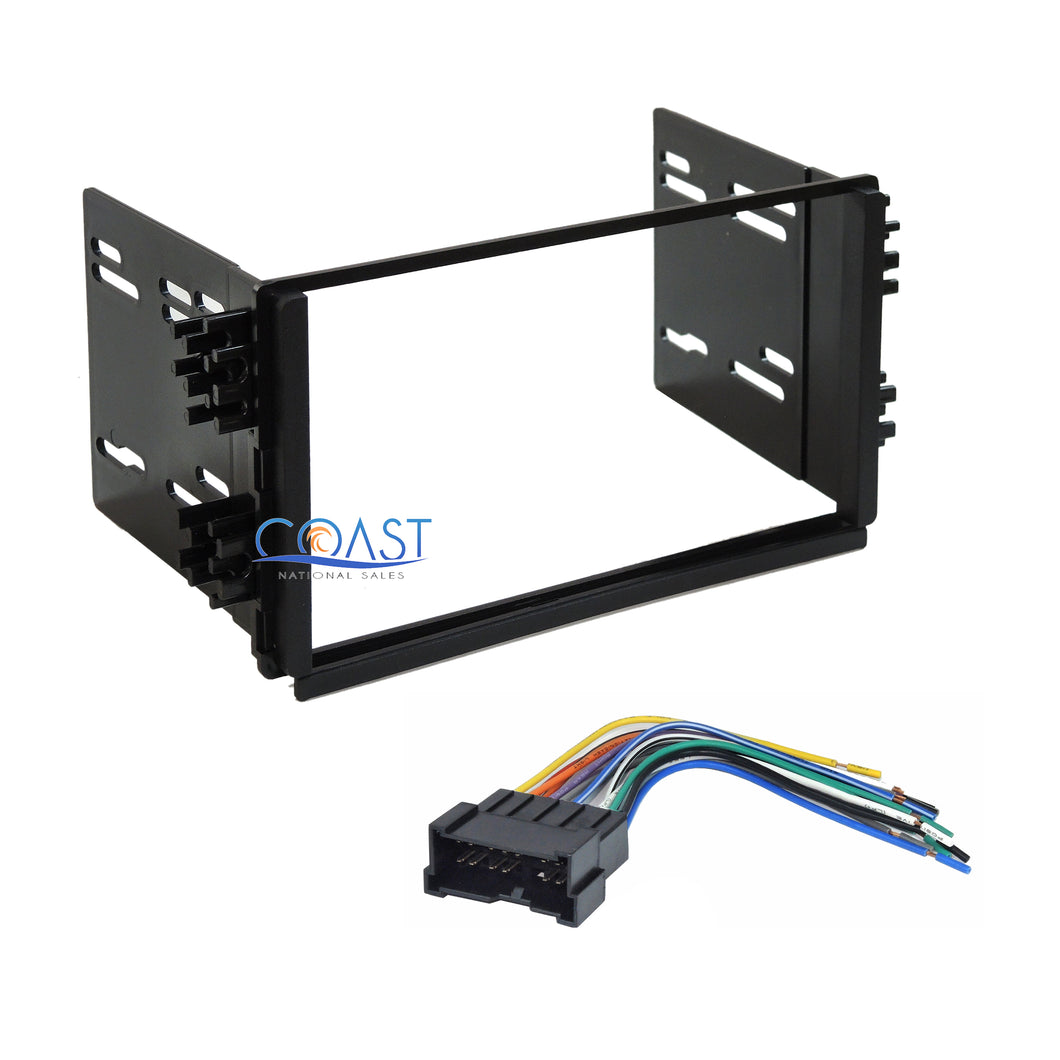Car Stereo Radio Dash Kit Harness for Kia Rio Optima Sorento Sedona 2001-2006
