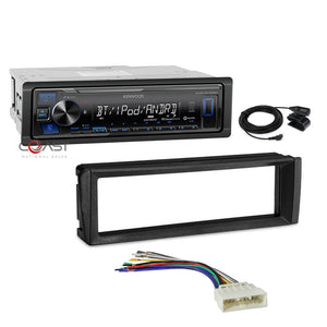 Kenwood Car Stereo iheart Bluetooth Dash Kit Harness for 1996-1998 Honda Civic