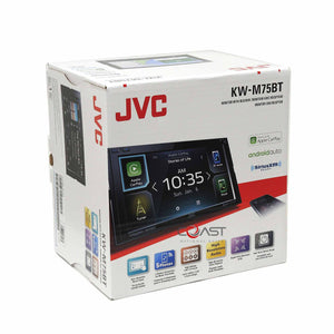 JVC USB Sirius Carplay Stereo Dash Kit Amp Harness for 2011-13 Hyundai Elantra