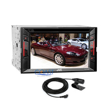 Load image into Gallery viewer, JVC DVD USB Bluetooth Stereo 2Din Dash Kit Wire Harness for 2007-11 Honda CRV