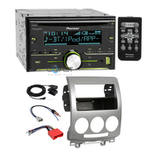 Load image into Gallery viewer, Pioneer CD MP3 USB Sirius Bluetooth Stereo Dash Kit Harness for 2006-10 Mazda 5