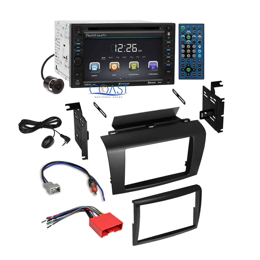 Planet Audio Car DVD Camera Radio Stereo Dash Kit Harness for 2004-2009 Mazda 3