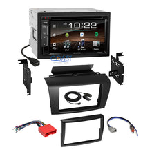 Load image into Gallery viewer, Kenwood DVD USB Sirius Bluetooth Stereo Dash Kit Wire Harness for 04-09 Mazda 3