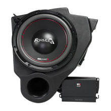"Load image into Gallery viewer, MB Quart MBQ-SUBSYS-1 10"" Dual Voice Coil Subwoofer 400 Watts Amp W/ Enclosure"