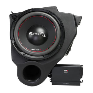 "MB Quart MBQ-SUBSYS-1 10"" Dual Voice Coil Subwoofer 400 Watts Amp W/ Enclosure"