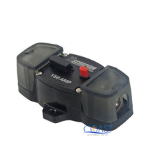 Load image into Gallery viewer, Car Stereo 12V 150 Amps Power Circuit Breaker w/ Manual Reset & Terminal Block