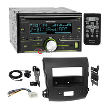 Load image into Gallery viewer, Pioneer CD Sirius Bluetooth 2Din Dash Kit Harness for 07+ Mitsubishi Outlander