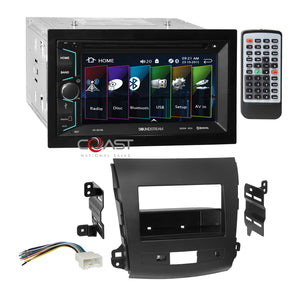 Soundstream DVD USB Bluetooth Dash Kit Harness for 2007-13 Mitsubishi Outlander