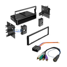 Load image into Gallery viewer, Single DIN Car Radio Stereo Trim Dash Kit Wire Harness for 1995-2005 Mitsubishi