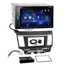 Load image into Gallery viewer, Pioneer 2018 DVD Bluetooth Stereo Dash Kit Harness for 07+ Mitsubishi Lancer