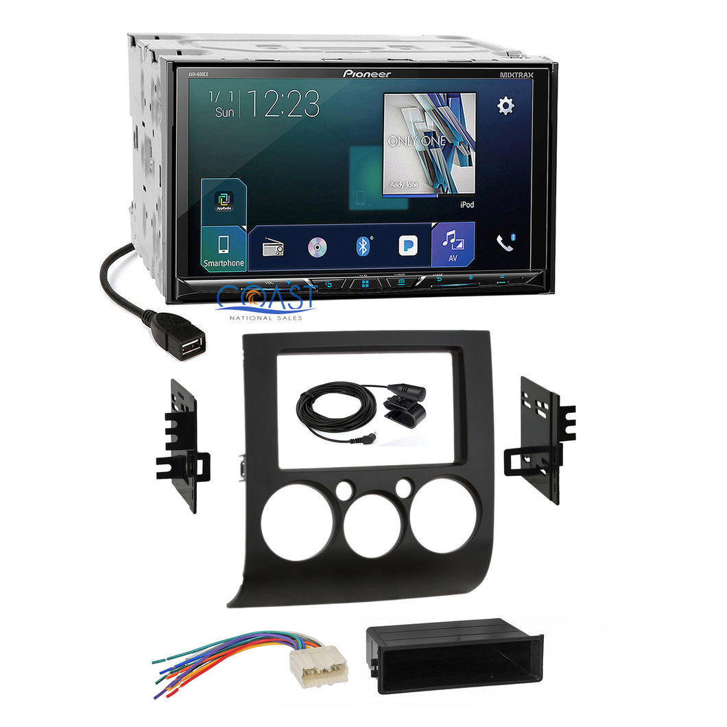 Pioneer Sirius GPS Ready Stereo Dash Kit Harness for 2004-12 Mitsubishi Galant