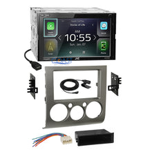 Load image into Gallery viewer, JVC 2018 Carplay Waze Stereo Silver Dash Kit Harness for 04+ Mitsubishi Galant