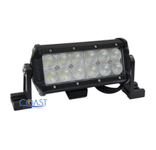 "Load image into Gallery viewer, Cree LED 7"" 36W Offroad 4x4 Truck Marine Work Flood Light Bar Fog Lamp - Black"