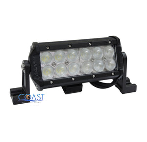 "Cree LED 7"" 36W Offroad 4x4 Truck Marine Work Flood Light Bar Fog Lamp - Black"