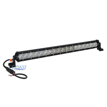 "Load image into Gallery viewer, Slim Cree LED 20"" 90W Offroad 4x4 Truck Marine Flood Spot Light Bar Lamp -Black"