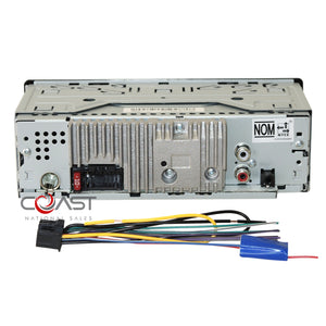 Pioneer Radio Bluetooth Single Din Dash Kit Harness for 2005-2010 Toyota Avalon