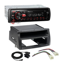 Load image into Gallery viewer, Pioneer Radio Bluetooth Single Din Dash Kit Harness for 2003-08 Toyota Corolla