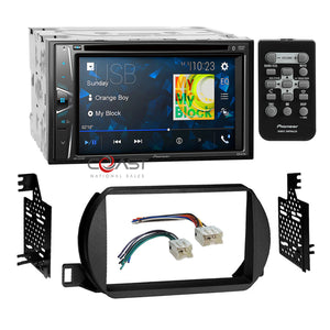 Pioneer DVD MP3 USB Bluetooth Stereo Dash Kit Harness for 2002-04 Nissan Altima
