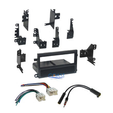 Load image into Gallery viewer, Single Din Car Radio Stereo Dash Kit Bezel Wiring Harness for 1998-2004 Nissan