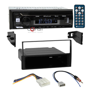 Planet Audio USB Bluetooth Dash Kit Harness for 05+ Nissan Frontier Pathfinder