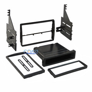 Car Stereo Single Double DIN Dash Kit Wire Harness for 2005-2006 Nissan Altima