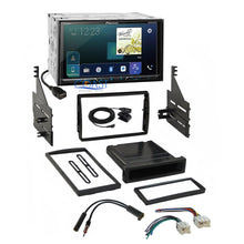 Load image into Gallery viewer, Pioneer Carplay Bluetooth Stereo 2 Din Dash Kit Harness for 05-06 Nissan Altima