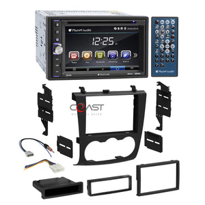 Planet Audio DVD USB Bluetooth Stereo Dash Kit Harness for 07-11 Nissan Altima
