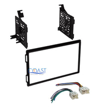 Load image into Gallery viewer, Planet Audio Car Stereo Double Din Dash Kit Harness for 04-12 Nissan Truck SUV