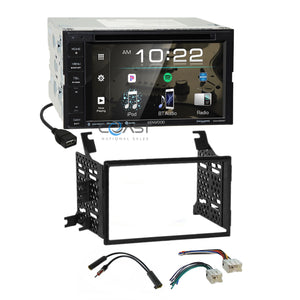 Kenwood Bluetooth Spotify Stereo Dash Kit Harness for Nissan Pathfinder Xterra