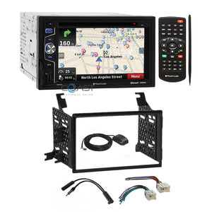 Planet Audio GPS Bluetooth Radio Dash Kit Harness for Nissan Pathfinder Xterra