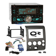 Load image into Gallery viewer, Kenwood CD Sirius Bluetooth Stereo Dash Kit SWC Harness for Nissan Armada Titan