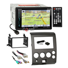Load image into Gallery viewer, Soundstream Bluetooth GPS Radio Dash Kit Harness for 04-07 Nissan Armada Titan