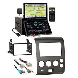 Soundstream Dual Screen Stereo Dash Kit Harness for 04-07 Nissan Armada Titan
