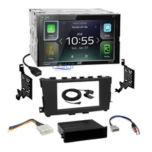 Load image into Gallery viewer, JVC 2018 Carplay Multimedia Stereo 2Din Dash Kit Harness for 13+ Nissan Altima