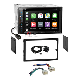Pioneer DVD Carplay Camera input Stereo Dash Kit Harness for 03-05 Nissan 350Z