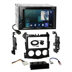 Pioneer DVD AppRadio Sirius Stereo 2Din Dash Kit Harness for 09-UP Nissan 370Z