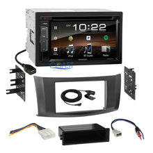 Load image into Gallery viewer, Kenwood Bluetooth Sirius Stereo Gray Dash Kit Harness for 2013-up Nissan Sentra