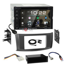 Load image into Gallery viewer, Kenwood DVD Spotify Stereo 2Din Gray Dash Kit Harness for 13-up Nissan Sentra