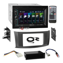 Load image into Gallery viewer, Soundstream 2018 DVD USB Stereo 2Din Gry Dash Kit Harness for 13+ Nissan Sentra