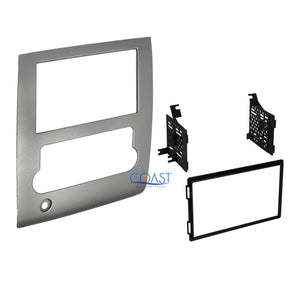 Double DIN Car Radio Stereo Dash Kit Trim Panel for 2008-2013 Nissan Titan