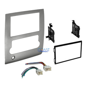 Double DIN Car Radio Stereo Dash kit Harness for 2008-2013 Nissan Titan