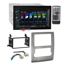 Load image into Gallery viewer, Soundstream 2018 DVD MP3 USB Stereo Sil Dash Kit Harness for 08-13 Nissan Titan