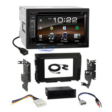 Load image into Gallery viewer, Kenwood 2018 DVD Bluetooth Stereo Gloss Dash Kit Harness for 16-17 Nissan Titan
