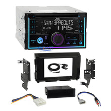 Load image into Gallery viewer, JVC CD Sirius Bluetooth Stereo Gloss Dash Kit Harness for 2016-17 Nissan Titan