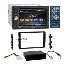 Load image into Gallery viewer, Planet Audio Media Bluetooth Stereo Dash Kit Harness for Nissan Frontier Titan
