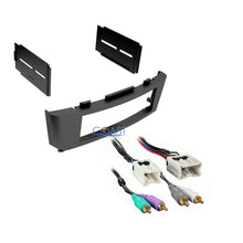 Load image into Gallery viewer, Single DIN Stereo Car Dash Kit w/ Amplifier Harness for 2002-2006 Nissan Sentra