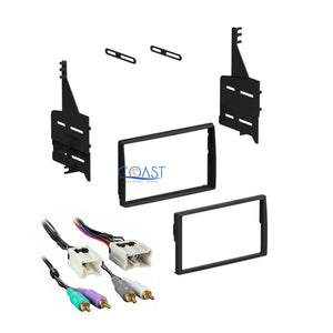 Single DIN Radio Stereo Dash Kit with Harness for 2005-2006 Nissan Altima